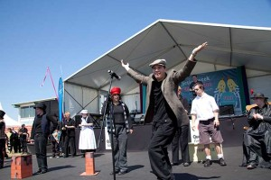 Performers at Disability Action Week festival